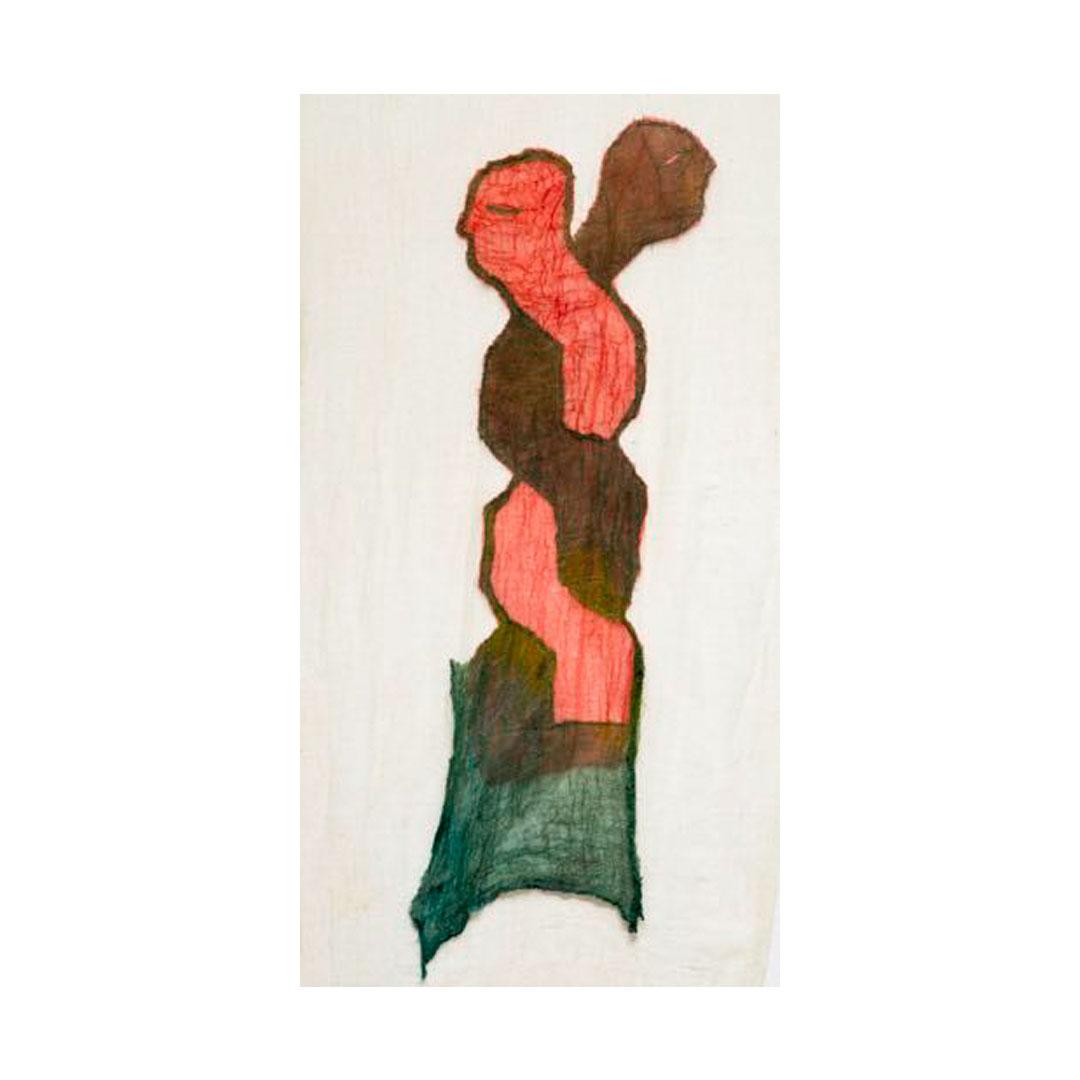 Kumaş üzerine dikiş / Sewing on fabric 90 cm x 155 cm 2020